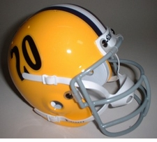 LSU Tigers 1958 Schutt Throwback Mini Helmet