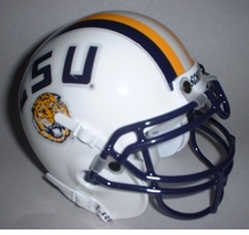 LSU Tigers 1997 Schutt Throwback Mini Helmet