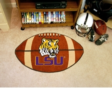 "LSU Tigers 22""x35"" LSU Football Floor Mat"