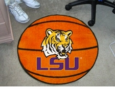 "LSU Tigers 27"" Basketball Floor Mat"