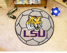 "LSU Tigers 27"" Soccer Ball Floor Mat"