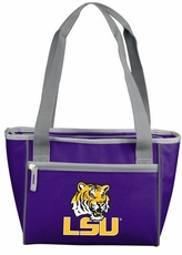LSU Tigers 8 Can Cooler Tote