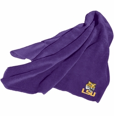 LSU Tigers Fleece Throw