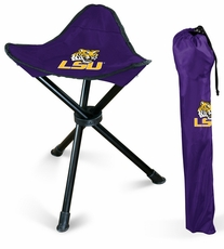 LSU Tigers Folding Stool