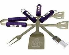 LSU Tigers Grill BBQ Utensil Set