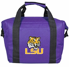 LSU Tigers Kolder 12 Pack Cooler Bag