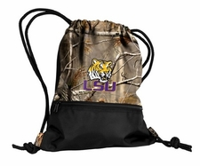 LSU Tigers Realtree String Pack / Backpack