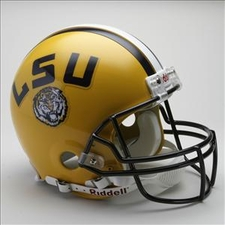 LSU Tigers Riddell Pro Line Authentic Helmet