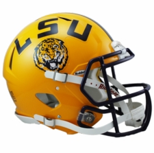 LSU Tigers Riddell Revolution Speed Authentic Helmet