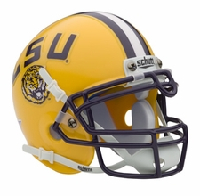 LSU Tigers Schutt Authentic Mini Helmet