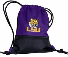 LSU Tigers String Pack / Backpack