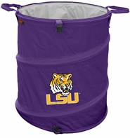 LSU Tigers Tailgate Trash Can / Cooler / Laundry Hamper