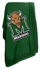 Marshall Thundering Herd Classic Fleece Blanket