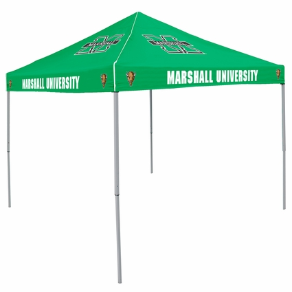 Throwback Heather Green Marshall Thundering Herd  Logo Canopy Tailgate Tent