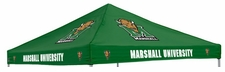 Marshall Thundering Herd Green Logo Tent Replacement Canopy