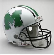 Marshall Thundering Herd Riddell Pro Line Authentic Helmet