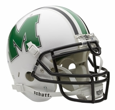 Marshall Thundering Herd Schutt Authentic Full Size Helmet