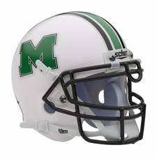 Marshall Thundering Herd Schutt Authentic Mini Helmet