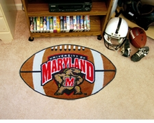 "Maryland Terrapins 22""x35"" Football Floor Mat"