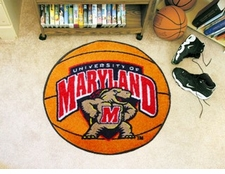 "Maryland Terrapins 27"" Basketball Floor Mat"