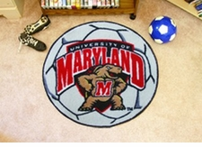 "Maryland Terrapins 27"" Soccer Ball Floor Mat"