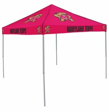 Maryland Terrapins Red Logo Canopy Tailgate Tent