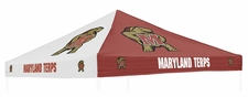 Maryland Terrapins Red / White Logo Tent Replacement Canopy