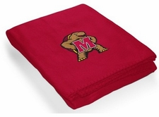 Maryland Terrapins Stitched Classic Fleece