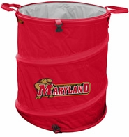 Maryland Terrapins Tailgate Trash Can / Cooler / Laundry Hamper