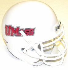 Massachusetts Minutemen Schutt Authentic Mini Helmet