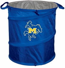 McNeese State Cowboys Tailgate Trash Can / Cooler / Laundry Hamper