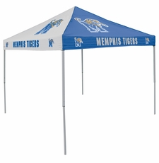Memphis Tigers Blue / Gray Logo Canopy Tailgate Tent