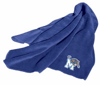 Memphis Tigers Fleece Throw