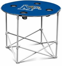 Memphis Tigers Round Tailgate Table