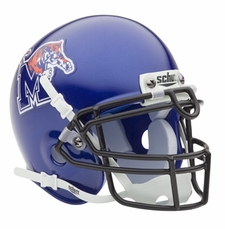 Memphis Tigers Schutt Authentic Mini Helmet
