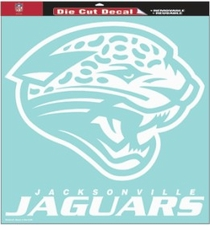 Miami Dolphins 18 x 18 Die-Cut Decal