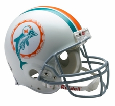 Miami Dolphins 1972 Throwback Riddell Pro Line Helmet