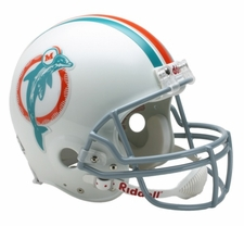 Miami Dolphins 1973-79 Throwback Riddell Pro Line Helmet