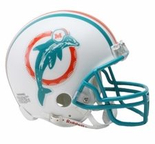 Miami Dolphins 1980-96 Throwback Replica Mini Helmet