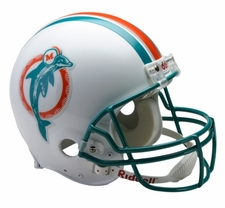 Miami Dolphins 1980-96 Throwback Riddell Deluxe Replica Helmet
