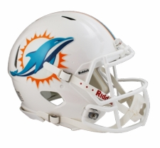 Miami Dolphins 2013 Revolution Speed Riddell Authentic Helmet