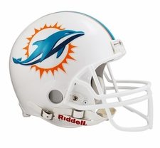 Miami Dolphins 2013 Riddell Full Size Authentic Helmet