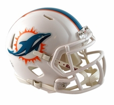 Miami Dolphins 2013 Speed Mini Helmet