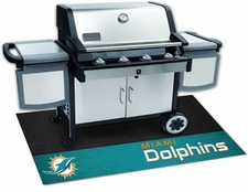Miami Dolphins 26x42 Grill Mat