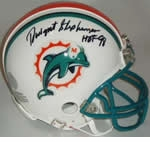 Miami Dolphins Autographed Football Gear