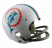 Miami Dolphins Classic TK 1972 Throwback Riddell Replica Helmet