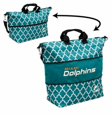 Miami Dolphins  - Expandable Tote (patterned)