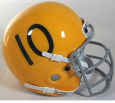 Miami Hurricanes 1959-63 Schutt Throwback Mini Helmet