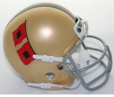 Miami Hurricanes 1967 Schutt Throwback Mini Helmet