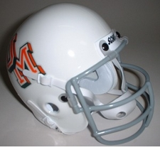 Miami Hurricanes 1970 Schutt Throwback Mini Helmet